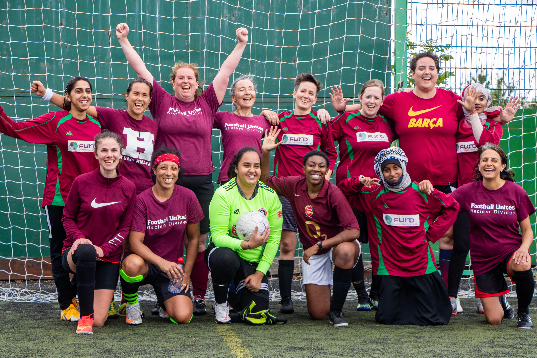 FURD women 8th August 2021 - FURD women's first 11-a-side match