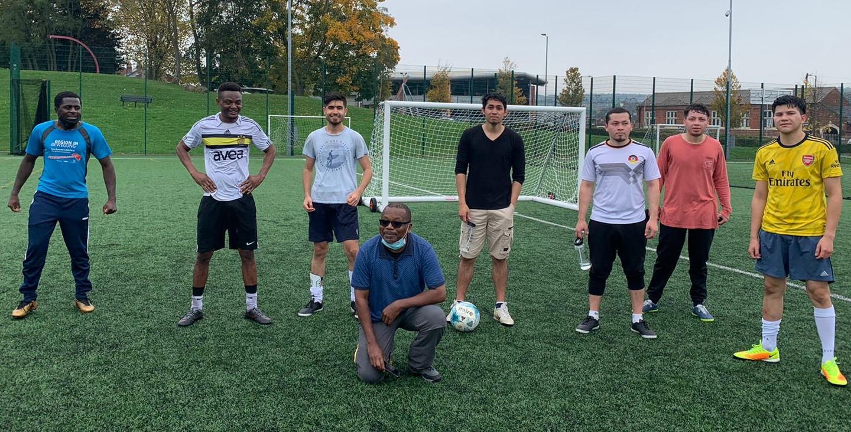Belonging group footballers 2020