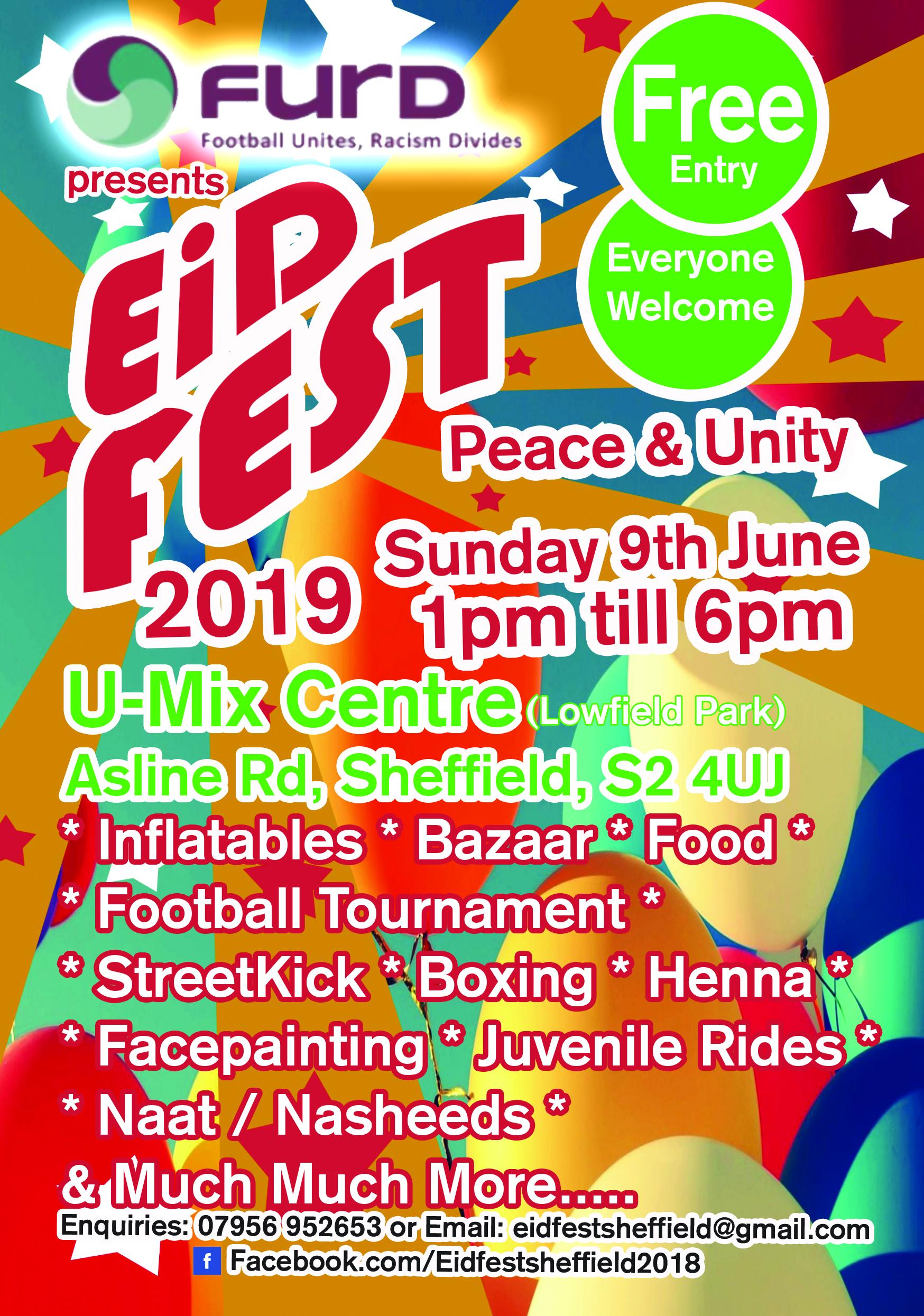 Eid festival 2019 flyer