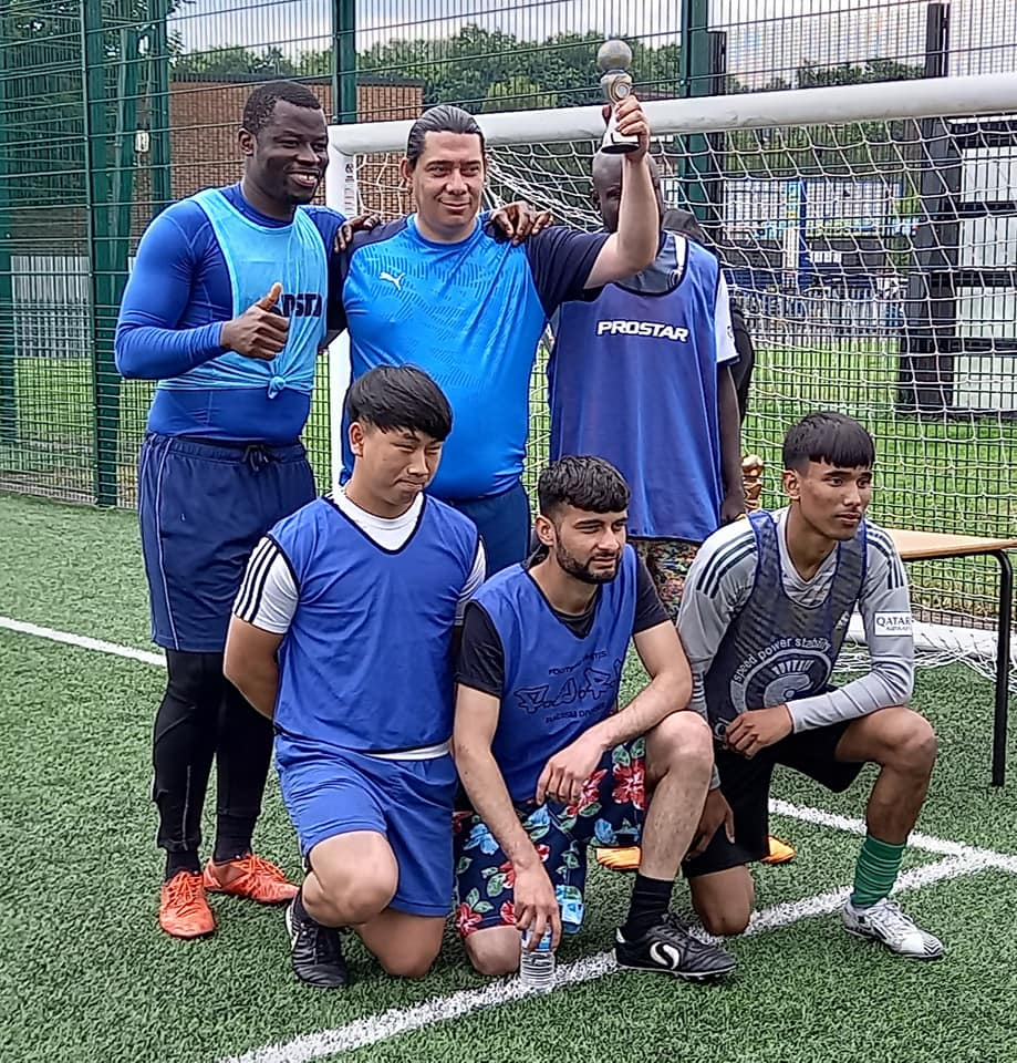 All nations runners-up Italy - All Nations Euros-themed tournament for the Belonging Group 30/6/21 - runners-up