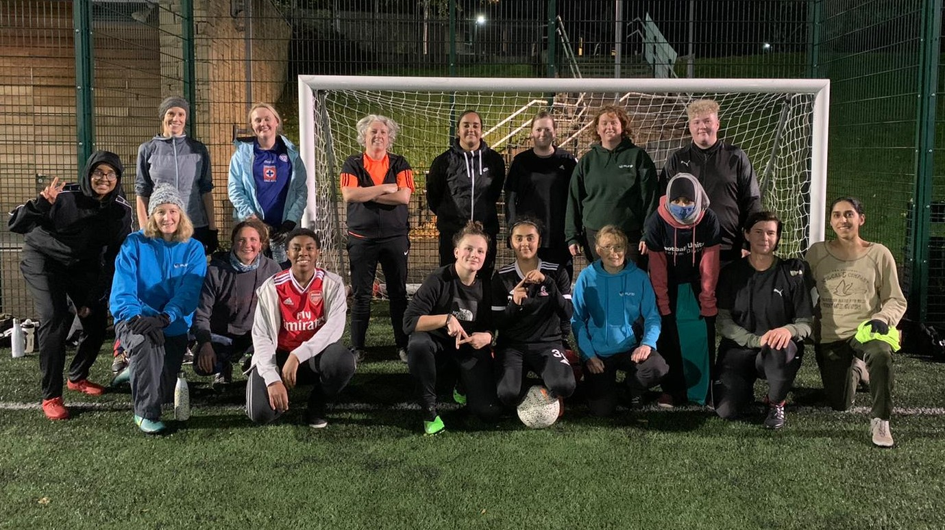FURD women's football session November 3rd 2020 cropped