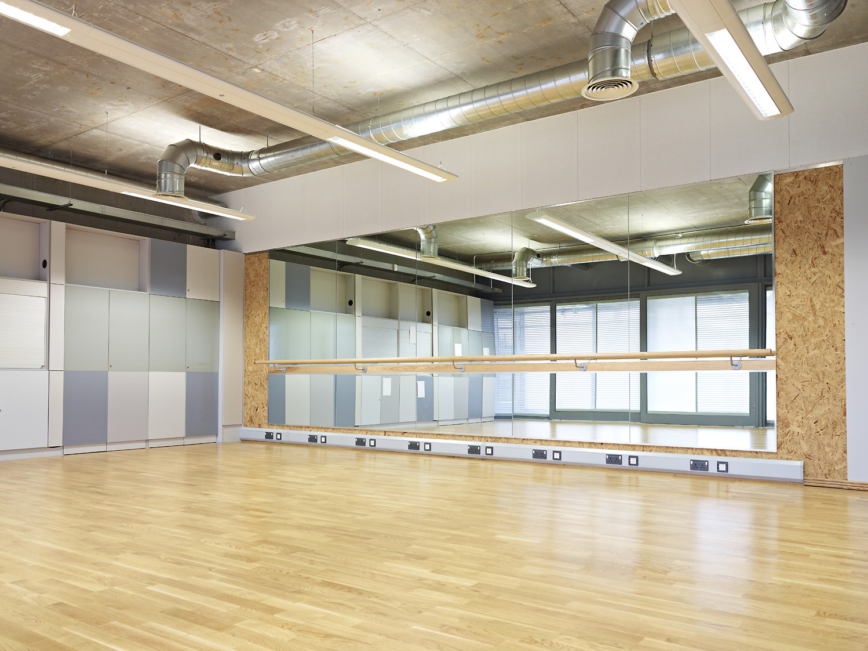 Dance studio - U-Mix Centre dance studio