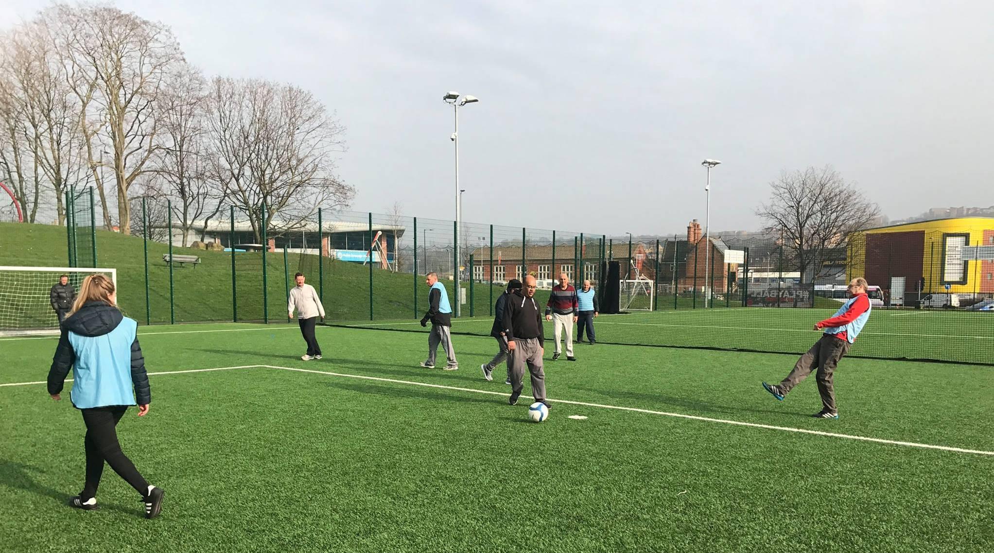 Walking football 2017