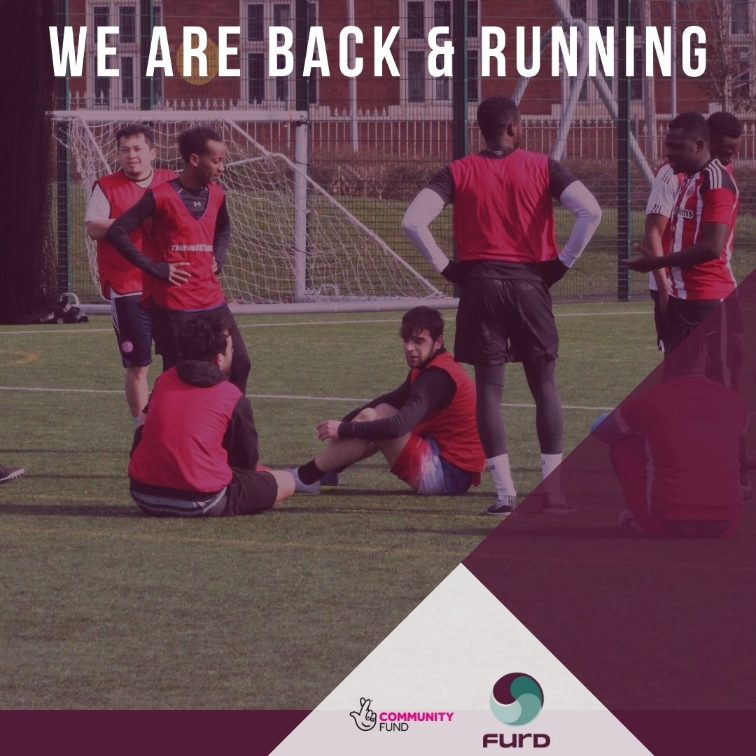 We are back and running!