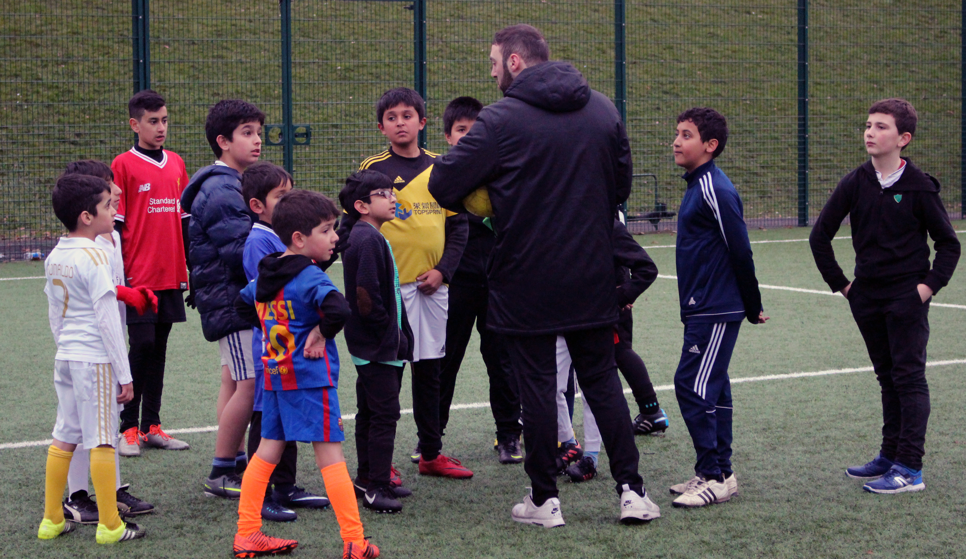 Football coaching - Sandro and juniors